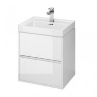 Мебель для ванной комнаты Шкафчик под умывальник CERSANIT Crea 50 (Белый)