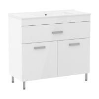 Мебель для ванной комнаты Шкафчик с умывальником RJ Velum 90 RJ82900