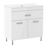 Мебель для ванной комнаты Шкафчик с умывальником RJ Velum 80 RJ82800