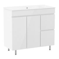 Мебель для ванной комнаты Шкафчик с умывальником RJ Fly 90 RJ84900